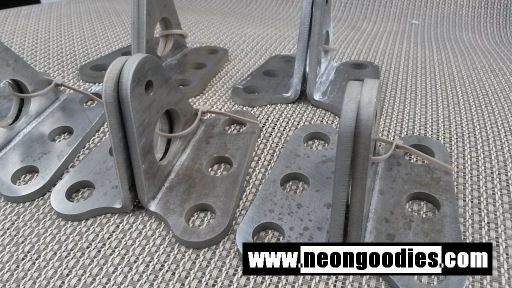 Dodge Neon 1G Swaybar Brackets - Heavy Duty
